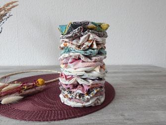 Scrunchies, handmade, Haargummi