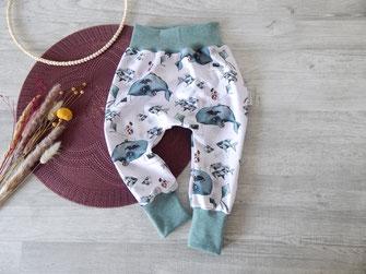 Baggyhose, Pumphose genäht, handmade