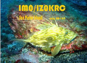Qsl of IM0/IZ0KRC