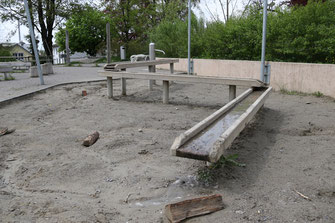 Lindenhof Wasserrinne