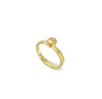 Ein Brocken Glück Ring in 750 Gelbgold