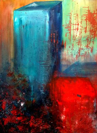 BDL 1911 Öl auf Leinwand 120 x 100 cm