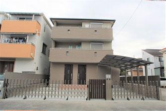 木造3階 耐震等級3の家