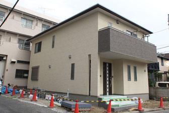 木造2階 二世帯住宅