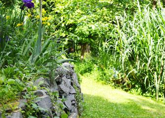 Der Garten dient als Inspiration für die Kunsttherapie-Workshops von Helen Wissen