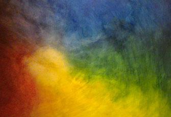 "Übung in der Kunsttherapie ""Farbkreis"""