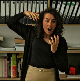 Sprechlehrerin Hanau Janna Ambrosy
