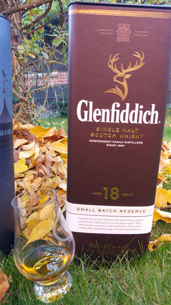 Glenfiddich 18 Jahre Small Batch Reserve Umverpackung