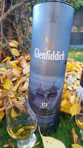 Glenfiddich 15 Jahre Distillery Edition Umverpackung