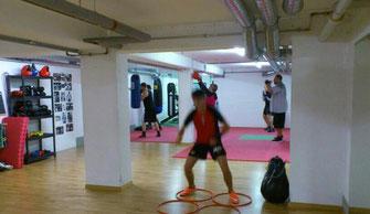 Fitnessboxen (Kraft-Ausdauer Parcours) Nov. 2015 @ M's-Gym Bern Ittigen