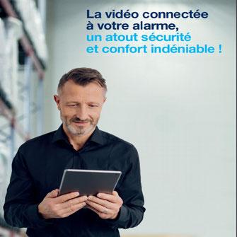 affiche vidéo connectée