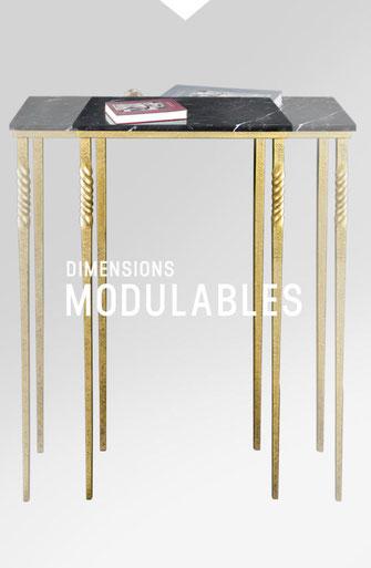 Les dimensions sont modulables Mobilier De Style
