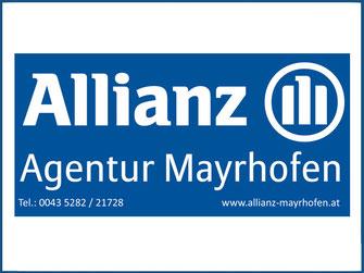 ALLIANZ VERSICHERUNG - Agentur Mayrhofen