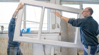 Durchführung Holztürenbau