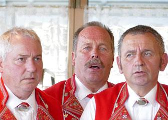 beim Singen im Oberdorf