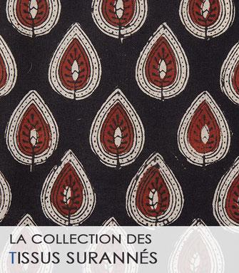 La collection des tissus bleus de La Boutique MG