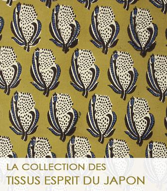 La collection des tissus surannés de la Boutique MG.