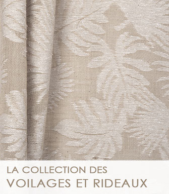 La collection des tissus jacquard de La Boutique MG.
