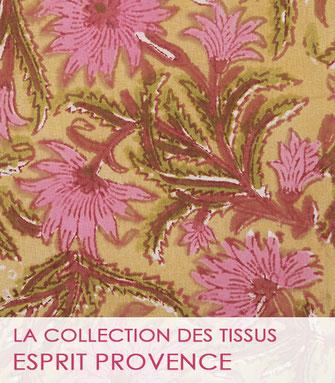 Nouvelle collection de tissu au mètre dans un Esprit Provence 2021 de La Boutique MG