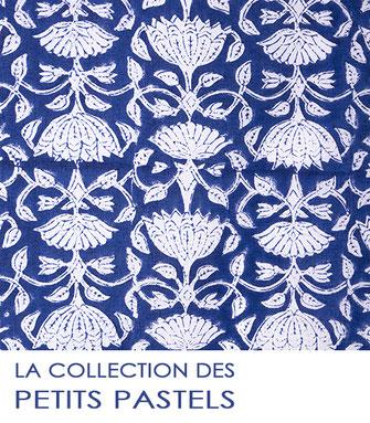 Nouvelle collection de tissu au mètre petits pastels 2021 de La Boutique MG.