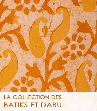 Tissu au mètre fantaisie très colorés, aux riches motifs.