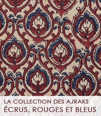 La collection des tissus moghol de La Boutique MG