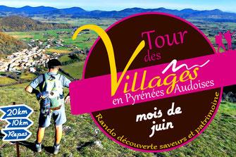 Tour des Villages en Pyrénées Audoises