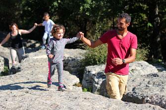 Balade en famille au Labyrinthe Vert de Nébias - Rando Pyrénées Audoises