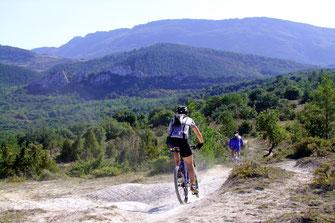 Évasion VTT dans les Pyrénées Audoises