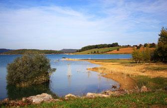 Tour du lac de Montbel en VTT