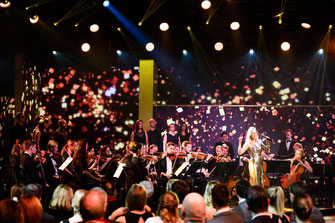Helene Fischer an den Credit Suisse Sports Awards