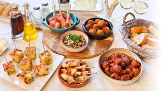 Spaans eten Villa Casa del Lago