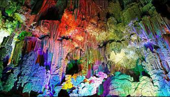 De grotten van Canelobre - 65 km van Villa Casa del Lago