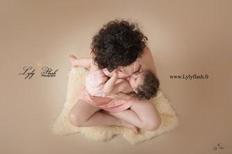 photographe bébé var allaitement
