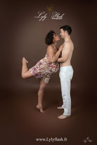 photo danse et grossesse par photographe var