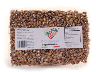 Fagioli Borlotti 500g 100% made in italy F.lli Aiezza