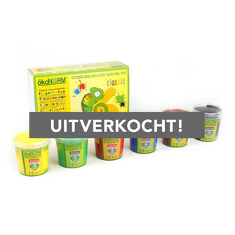 Vingerverf Classic - 6 kleuren (€19,95)