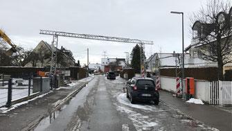 Kabelbrücke mit 12 Metern