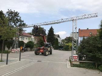 Kabelbrücke 18 Meter