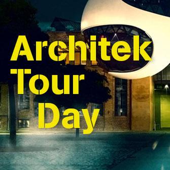 Blick auf einen Ausschnitt des Gebäudes der Bundeskulturstiftung Halle  als Titelbild für die Rubrik ArchitekTour Day