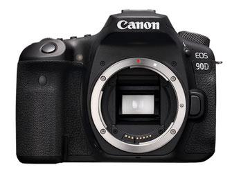 Canon EOS 90D (Front)