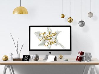 B2B Weihnachtskarten Design