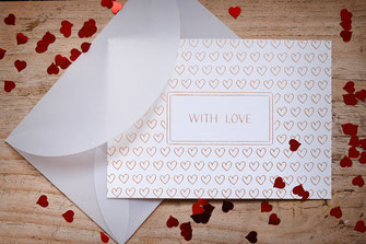 Designs von Grußkarten, Postkarten, Weihnachtskarten, Trauerkarten, Hochzeitskarten, Papeterie, Stationery