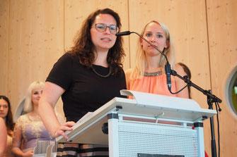 Riesendank an die Klassenlehrerinnen Ann-Kathrin Schüler (10b) und Kristina Roggenbrod (10a)
