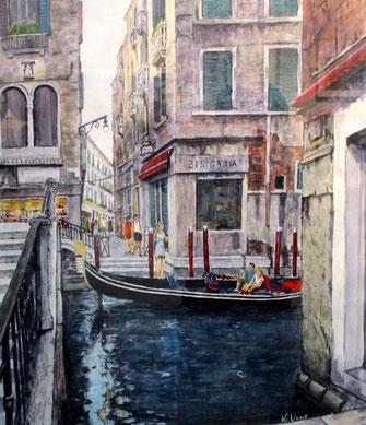 ヴェネツィア運河(F10号)KU氏