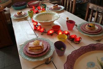 lichterkette für tischdekoration , Lichterkette Rosen
