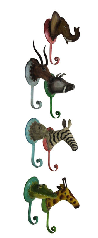 Wandhaken Wildlife Tiermotiv Pape Kunstgewerbe ,garderobenhaken tiere