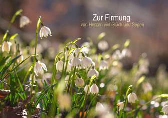 Glückwunschkarte zur Firmung, Glückwunschkarte, Karte, Firmung, Schmetterling, Lavendel