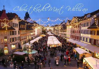 Weihnachtskarte, Weihnachten, Willisau