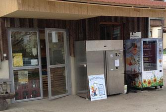 Bauernladen Bechtle Hof Milch-Zapfstelle